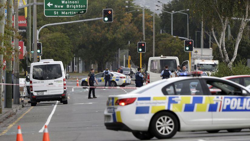 Nový Zéland mešity streľba útok polícia