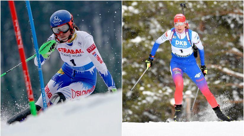 Petra Vlhová, Anastasia Kuzminová
