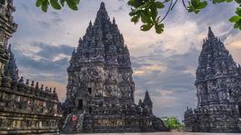 Prambanan , Indonézia, Jáva,