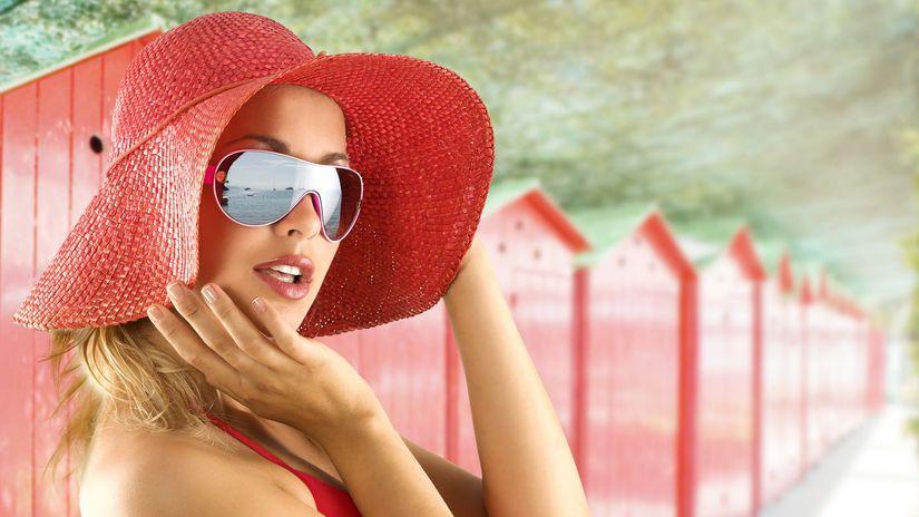 žena, klobúk, leto, okuliare, dovolenka,...