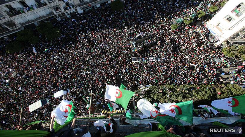 Alžírsko protest