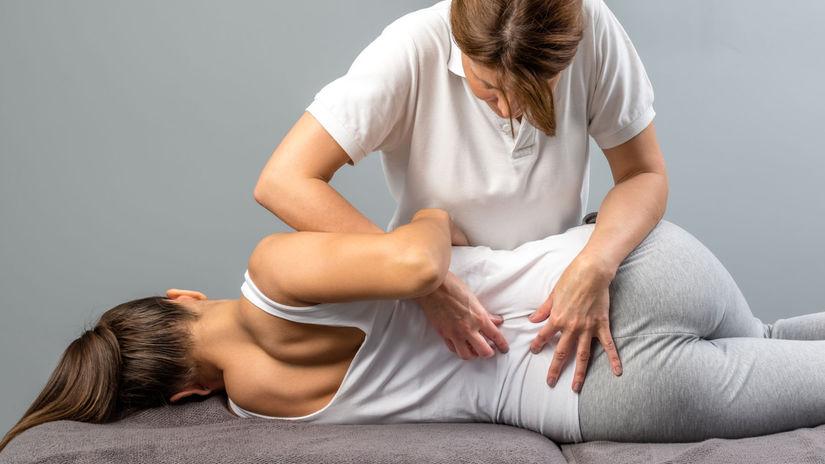 chrbtica, chrbát, masáž