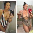 Instagramová hviezdička Celeste Barber si robí žarty z väčšiny hviezd.