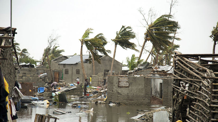 Mozambik cyklón obete nárast