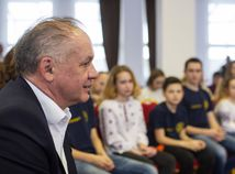 SR prezident Kiska rehabilitačný tábor detský návšteva POX