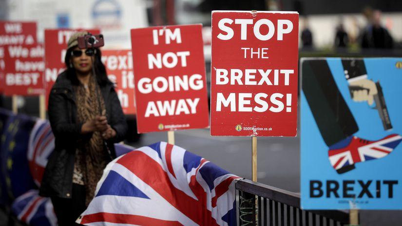 Brexit Británia