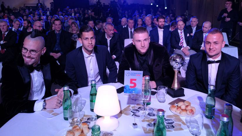 Marek Hamšík, Dávid Hancko, Milan Škriniar,...