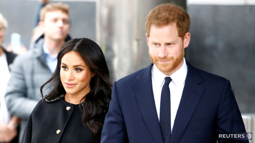 Princ Harry a jeho manželka Meghan, vojvodkyňa...