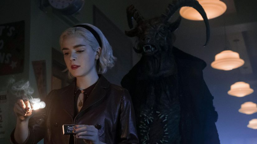 sabrina, kiernan shipka, chilling adventures of sabrina,