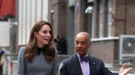 Vojvodkyňa Catherine z Cambridge navštívila aj Foundling Museum v Londýne.