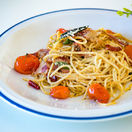 špagety, paradajky, cestovina