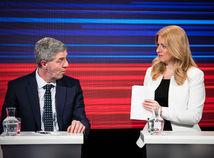 Čaputová Bugár voľby diskusia kandidátov na prezidenta SR 2019