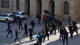 Futbal ME kvalifikácia Maďarsko polícia fanúšikovia