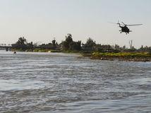 irak, nehoda trajektu, helikoptéra, vrtulník