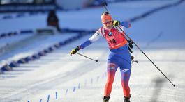 Nórsko SP biatlon ženy 9. kolo šprint ženy Kuzmin