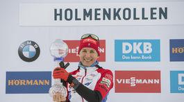 Nórsko SP biatlon ženy 9. kolo šprint ženy