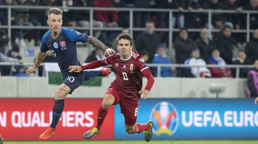 SR Futbal ME kvalifikácia E Maďarsko rusnák