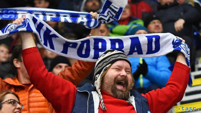 SR Hokej TL Štvrťfinále Play Off  Poprad Košice...