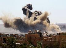 výbuch, explózia, baghuz, syria, islamský štát