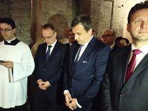 Taliansko SR Danko návšteva