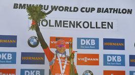 Nórsko SP biatlon ženy 9. kolo stíhačka Kuzmin