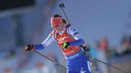 Nórsko SP biatlon ženy 9. kolo stíhačka Kuzminová