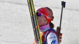 Nórsko SP biatlon ženy 9. kolo stíhačka