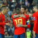 Ramos Jordi Alba Morata španielsko