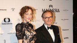 Herec a režisér Ondřej Havelka a jeho dcéra Rozálie Havelková.