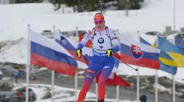 Nórsko SP biatlon ženy 9. kolo mass 12,5 km