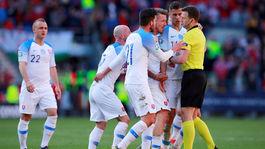 slovensko rozhodca hnev