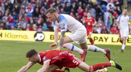 Wales Cardiff SR futbal kval ME E Slovensko duda