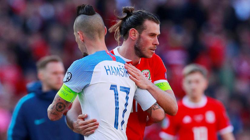 Marek Hamšík, Gareth Bale