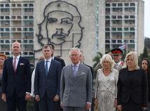 Princ Charles, Camilla. Kuba, návšteva, Havana