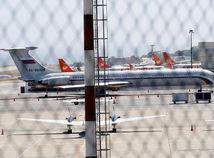 Venezuela, lietadlo, rusko, Il-62, caracas, letisko