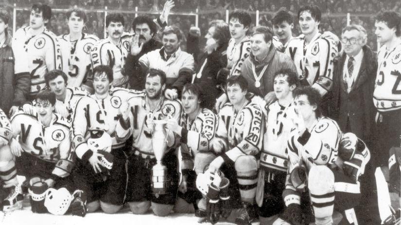 VSŽ Košice, titul, 1986
