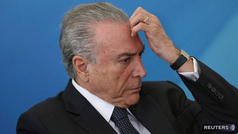 Brazília, Michel Temer