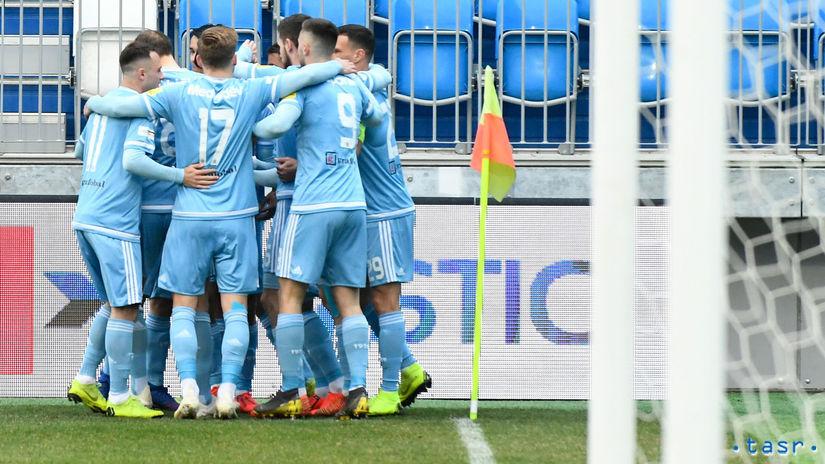 SR Sereď futbal FL 1. titul Slovan NRX
