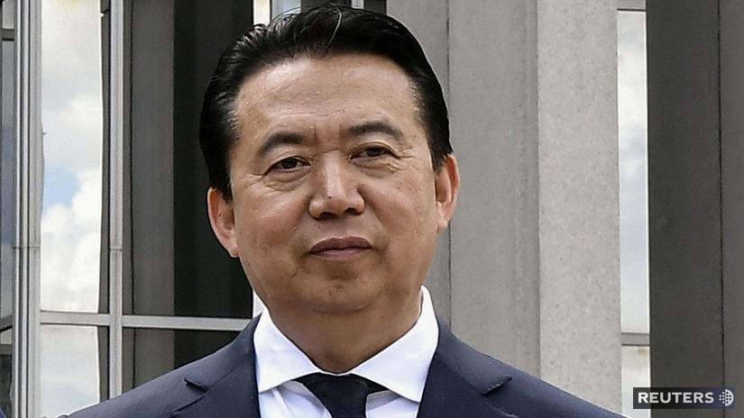 Čína, Interpol, Meng Chung-wej