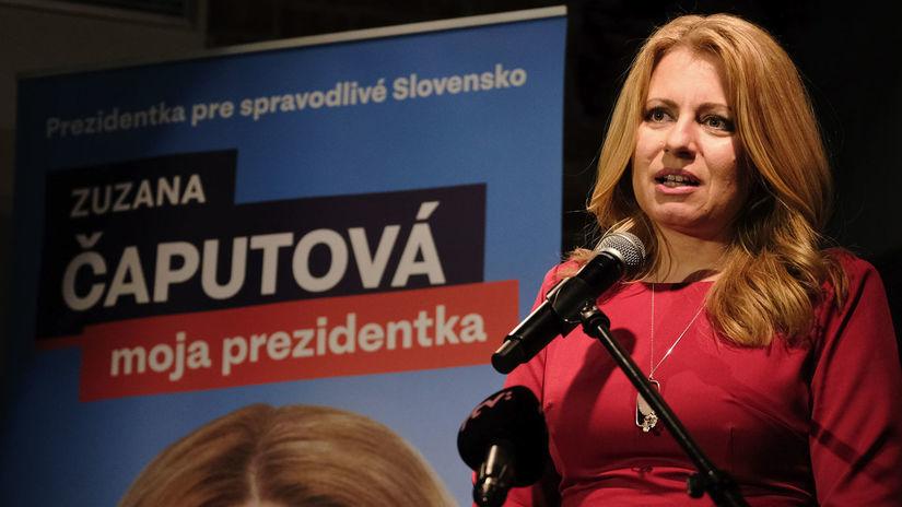 prezidentské voľby Čaputová