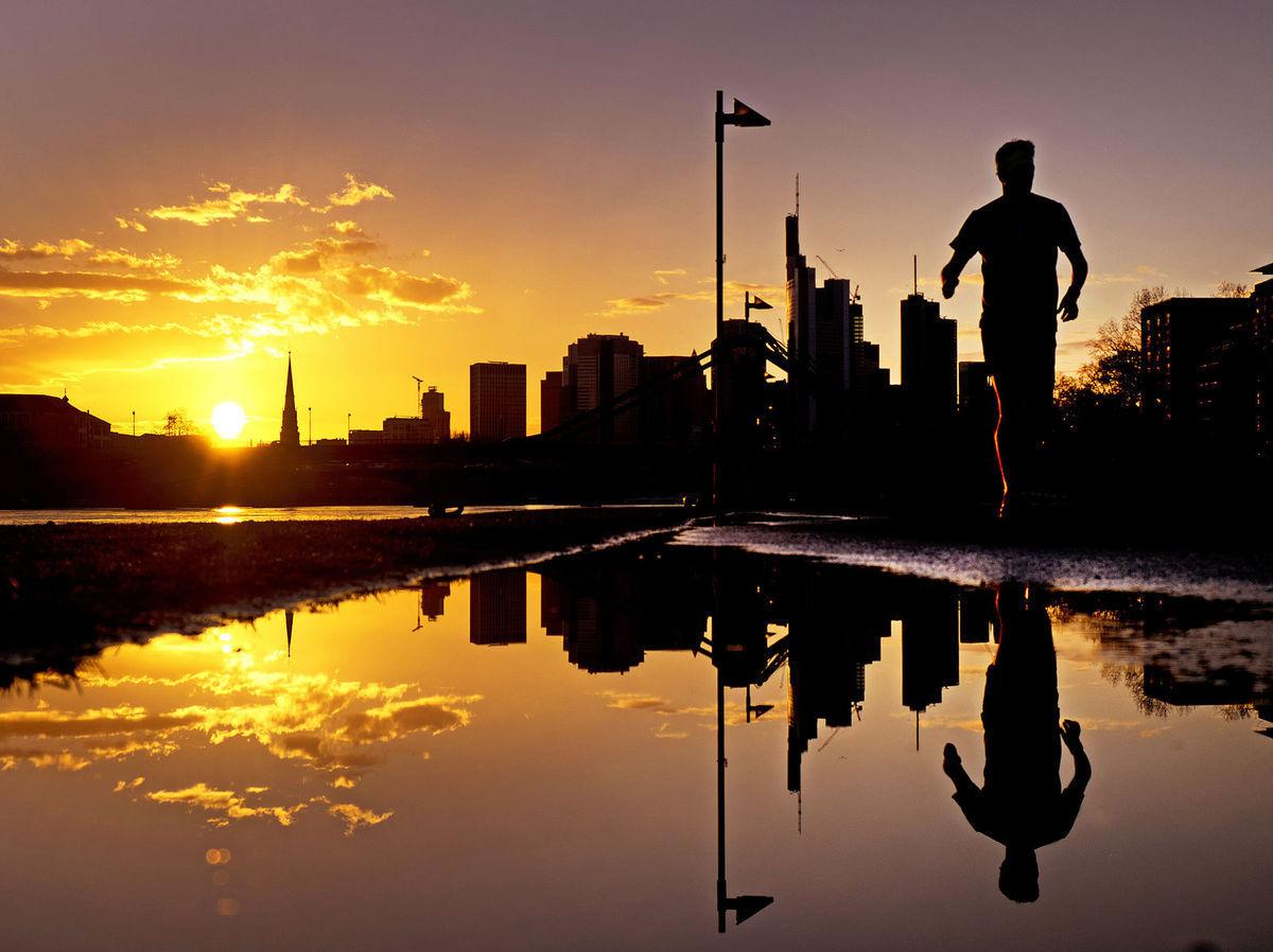 Nemecko, beh, behanie, jogging, cvičenie, zdravie, pohyb, slnko, mláka