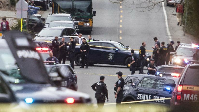 USA Seattle autobus streľba