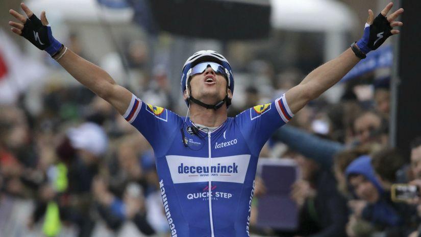 Belgicko ČR Cyklistika Štybar víťaz
