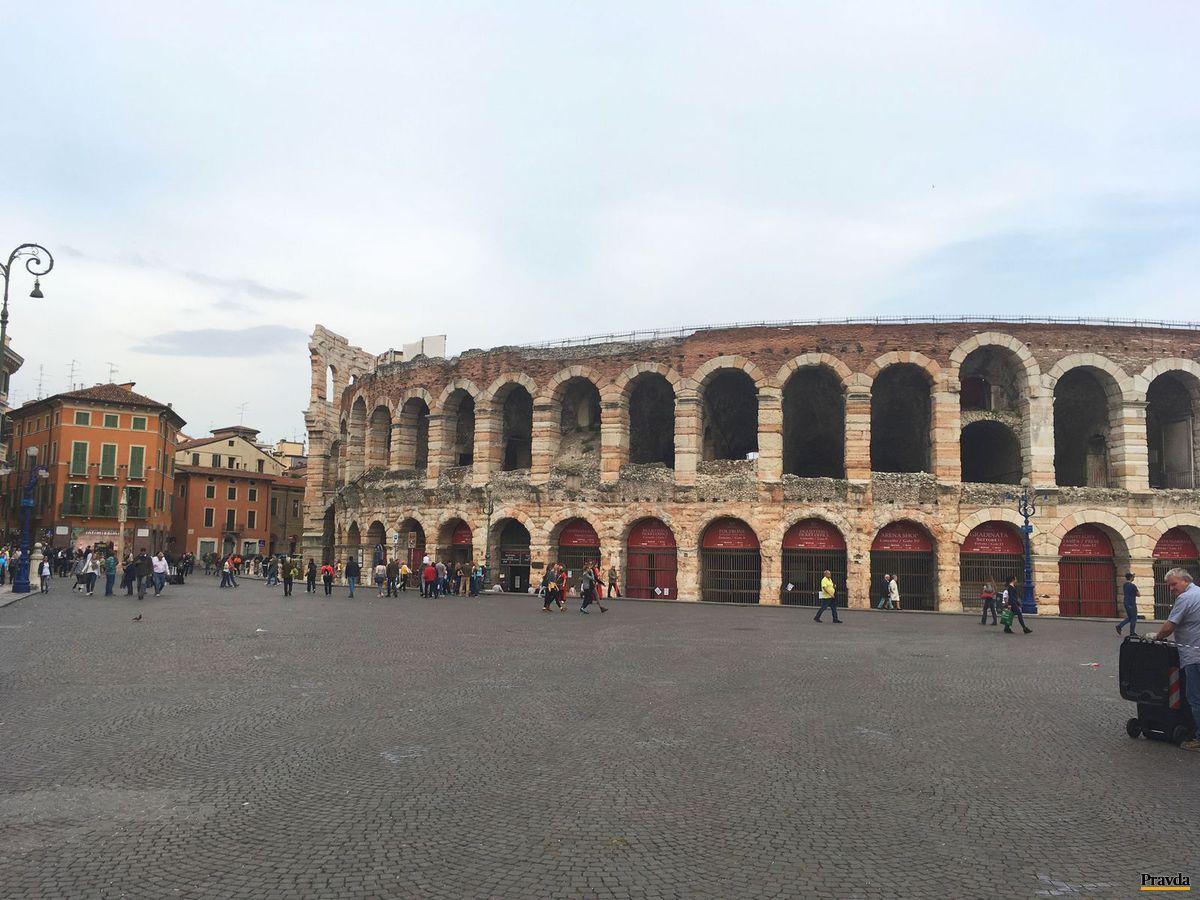Verona, amfiteáter, Taliansko