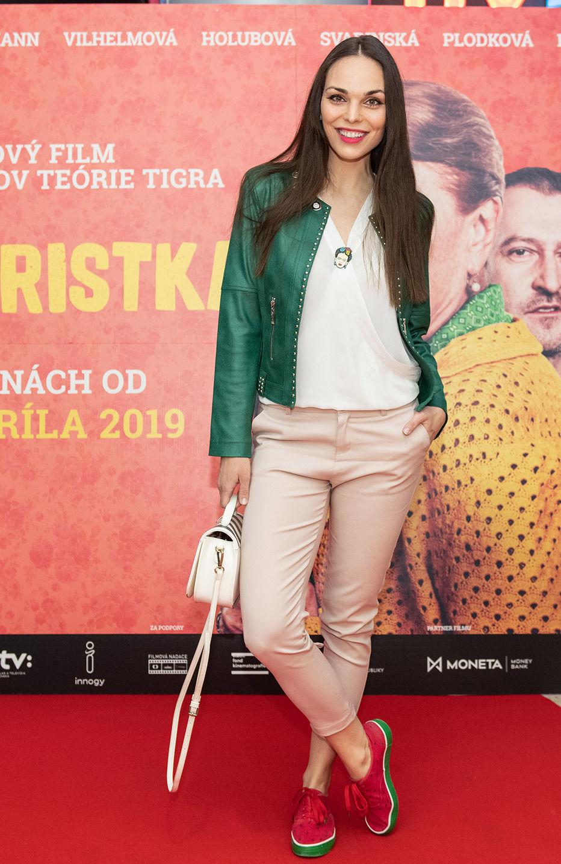 rh Modelka Soňa Štefková na premiére filmu...