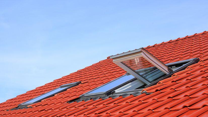 strecha, okno