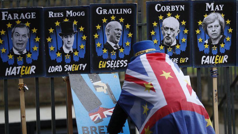 Británia EÚ brexit