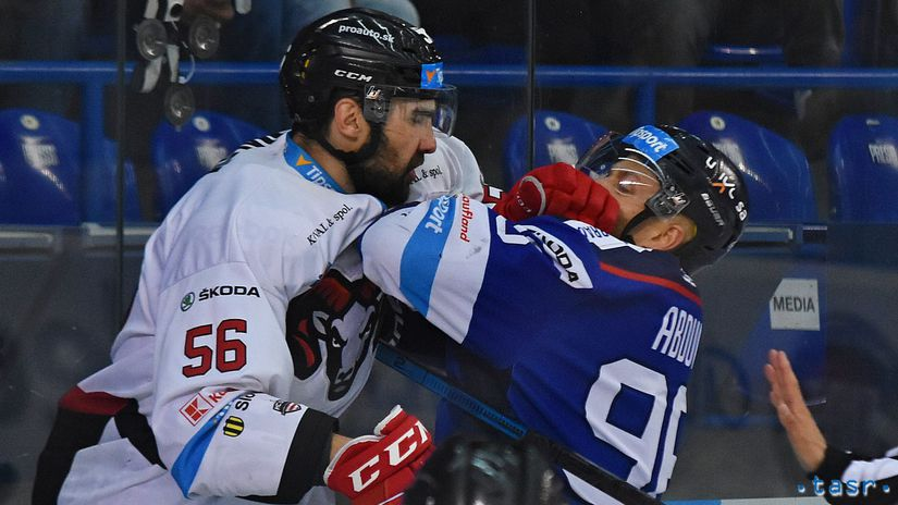 SR Hokej TL play off 1/2 6. Poprad B.Bystrica POX