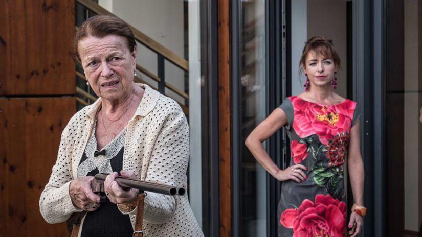 Teroristka Iva Janžurová Tatiana Vilhelmová