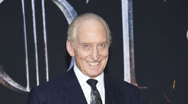 Herec Charles Dance na premiére Hra o tróny v New Yorku.